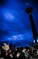 Iran Fajr Film Festival 2015 closing ceremony tehran milad tower