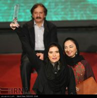 Iran Fajr Film Festival 2015 winners - Best Supporting Role Actress - Sahar Doulatshahi for 'The Ice Age'