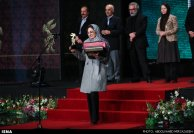 Iran Fajr Film Festival 2015 winners - Bita Mansuri, producer of 'Crazy'