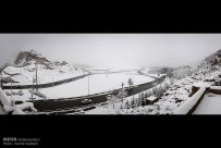 Iran, Kerman Province, Kerman City Winter Snow Snowball 01