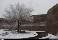 Iran, Kerman Winter Snow 01