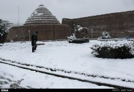 Iran, Kerman Winter Snow 02
