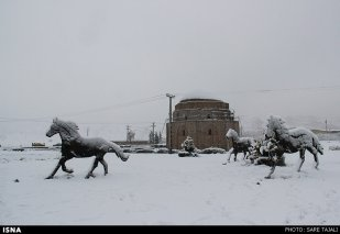 Iran, Kerman Winter Snow 04