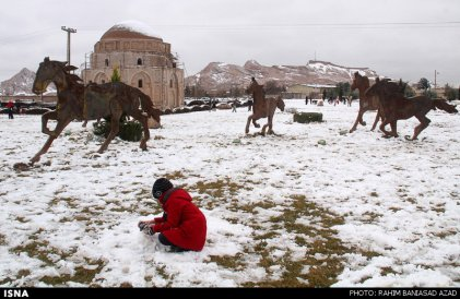 Iran, Kerman Winter Snow 05
