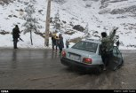 Iran, Kerman Winter Snow 08