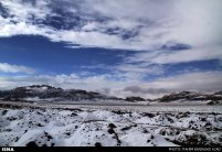 Iran, Kerman Winter Snow 09