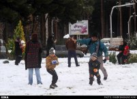 Iran, Kerman Winter Snow 11