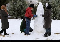Snow Kerman Iran Snowballs 04