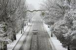 Snowfall in Tabriz Iran 3