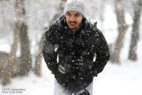 Snowfall in Tabriz Iran 6