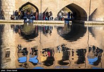 Zayanderud River in Iran's Isfahan Province 00