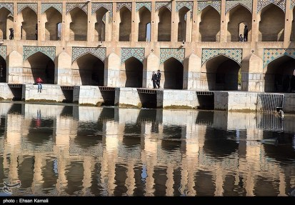Zayanderud River in Iran's Isfahan Province 06