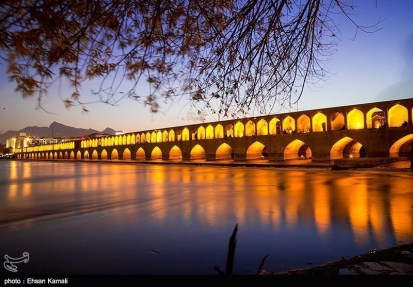 Zayanderud River in Iran's Isfahan Province 13