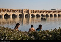 Zayanderud River in Iran's Isfahan Province 14