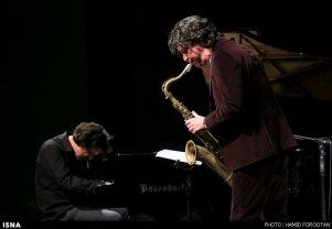 Dutch Musician Jazz Saxophonist Yuri Honing Iran Far Music Festival 2015 Tehran 08