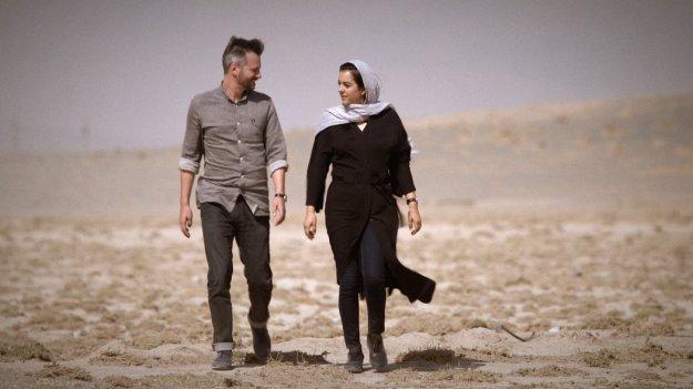 Dutch New York Times Journalist Thomas Erdbrink - Iranian photo journalist Newsha Tavakolian