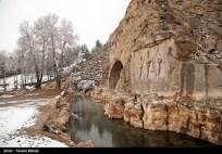Iran Bisutun Bisotun Snow 01
