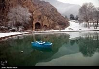 Iran Bisutun Bisotun Snow 03