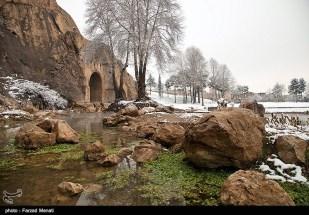 Iran Bisutun Bisotun Snow 05