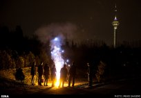 Iran Chaharshanbe Suri Festival of Fire 10