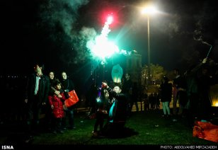 Iran Chaharshanbe Suri Festival of Fire 16