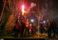 Iran Chaharshanbe Suri Festival of Fire 28