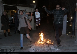 Iran Chaharshanbe Suri Festival of Fire 30