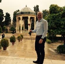 Tomb of Iranian poet Hafez in Shiraz