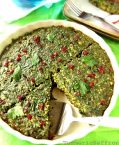 Iran Nowruz New Year Food Kookoo Sabzi