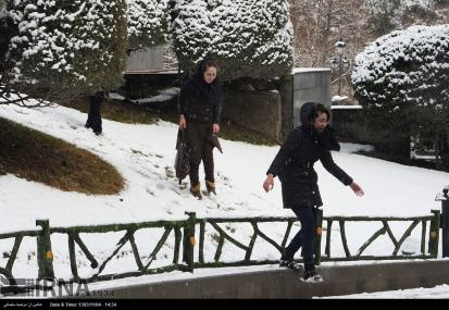 Iran,Tehran, Winter Snow 08