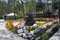 Alborz, Iran - Karaj, Chamran's Park Flower Garden 3