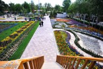 Alborz, Iran - Karaj, Chamran's Park Flower Garden 8