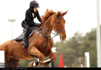 International Equestrian Tournament in Tehran Iran 02