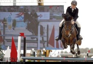International Equestrian Tournament in Tehran Iran 07