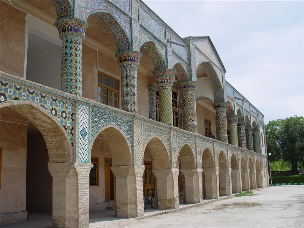 Iran S North Khorasan Province Bojnourd Mofakham Mirror