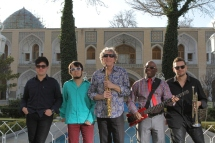 US Jazz Musician Bob Belden and band Animation in Iran