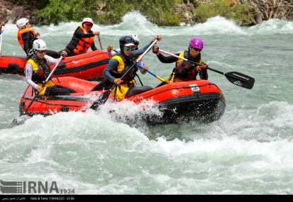 Chaharmahal and Bakhtiari, Iran - National team qualifyers - Rafting - 1