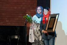 Tehran, Iran - Sheed Award 2014 39 - Closing ceremony, Maryam Zandi - Photo Laila Taheri