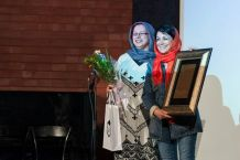 Tehran, Iran - Sheed Award 2014 39 - Closing ceremony, Maryam Zandi - Photo Laila Taheri