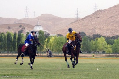 Tehran, Iran - Women Polo Tournament - Shirin Cup 2015 - 12