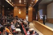 Cédric Villani at Sharif University of Technology - Tehran, Iran (2015)