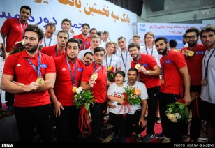 Water polo - 2015 FINA Development Trophy in Tehran - Iranian team (gold medal)