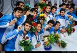 Water polo - 2015 FINA Development Trophy in Tehran - Uruguayan team (silver medal)