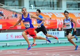 Ghasemi, Reza - 100m - 2015 Wuhan, China - Bronze