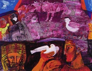 Ziggurat - The dove of peace