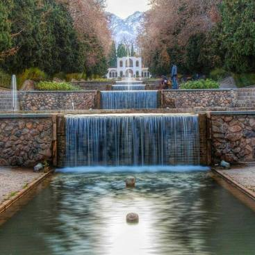 Shazdeh Garden (Bagh-e Shazdeh) in Mahan, Kerman Province, Iran - Photo credit: NEX1 TV (facebook.com/nex1tv/photos/911520658895374/)