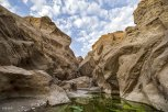 Rageh Canyon in Kerman, Iran (Photo credit: Vahid Dehyadgari for Mehr Agency)