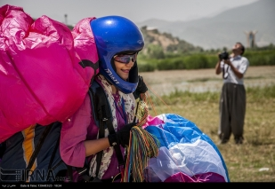 Kurdistan, Iran - Marivan - Paragliding festival June 2015 - 7