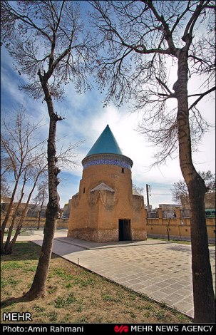 Mausoleum of Hamdollah Mostowfi - Persian historian, geographer and epic poet