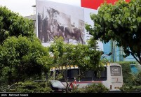 Tehran, Iran - Billboards swap - Tehran is an art gallery 2015 - 128